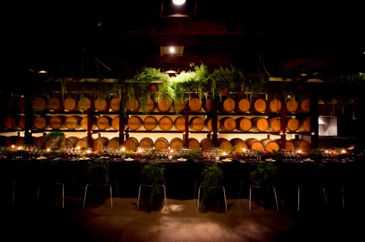 Barossa gala dinner - Barrel Room